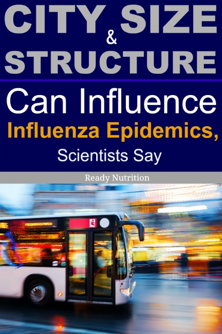 New research is suggesting that the size and structure of the city you live in has the possibility of influencing epidemics.