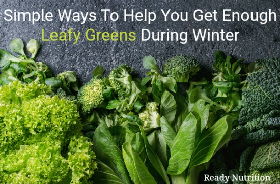 Getting your daily dose of greens seems difficult for most people on a sunny day in the summer when they have those vegetable readily available. But come winter time, some all but stop eating those nutritious veggies that help keep the body running in tip-top condition. Because of that, we've come up with this helpful guide to show you how easy it is to still get your veggies in even when that blizzard rolls through! #ReadyNutrition #HealthyLiving