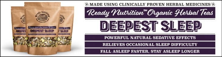 Ready Nutrition Herbal Tea - Deepest Sleep