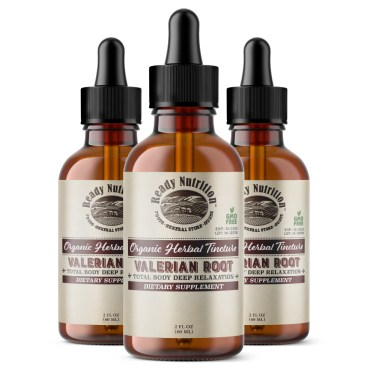 Ready Nutrition's Valerian Root herbal tincture is specially formulated to promote a total body deep relaxation. It is made using one of the most powerful plant-based sedatives that nature has to offer -Valerian root. #ReadyNutrition #HealthyLiving #NaturalMedicine