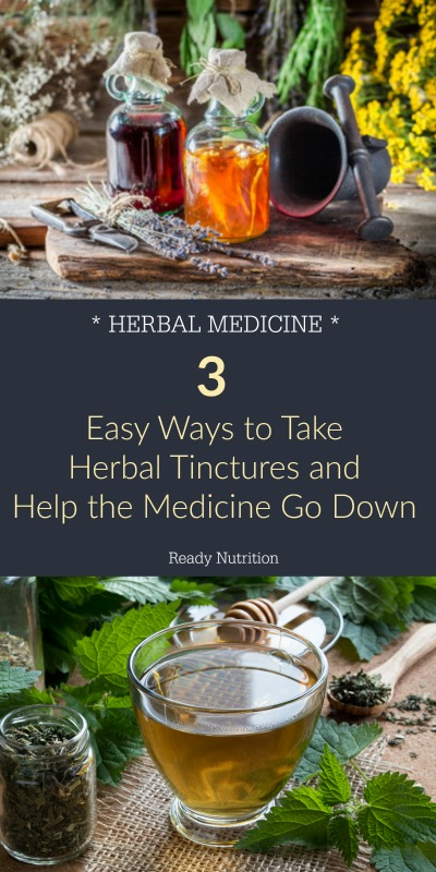 Tinctures bypass the need to digest entire herbs in the gut and are easily absorbed by the body. Because they are concentrated, the taste leaves a lot to be desired. Here are 3 easy ways to dilute the flavor and help the medicine go down.