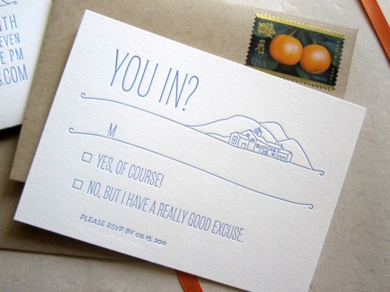 RSVP Card {Pinterest Picks}