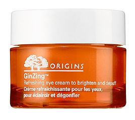 Origins GinZing™ Refreshing Eye Cream 0.5oz, $39 CAD // I used to champion Clinique's Pep Start eye gel, but this GinZing eye cream by Origins means business. I dab some on in the morning and suddenly look like I wasn't up late binge watching on Netflix. Magic.