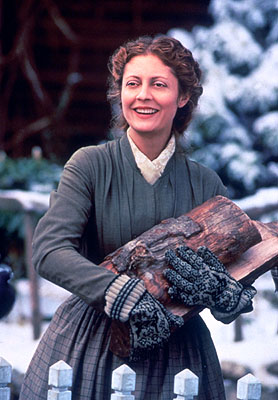 Airdate: Sunday, December 23 on NBC (8-11 p.m. ET) LITTLE WOMEN -- NBC Movie -- Pictured: Susan Sarandon as Mrs. Marmee March -- Photo: Provided by Columbia Pictures