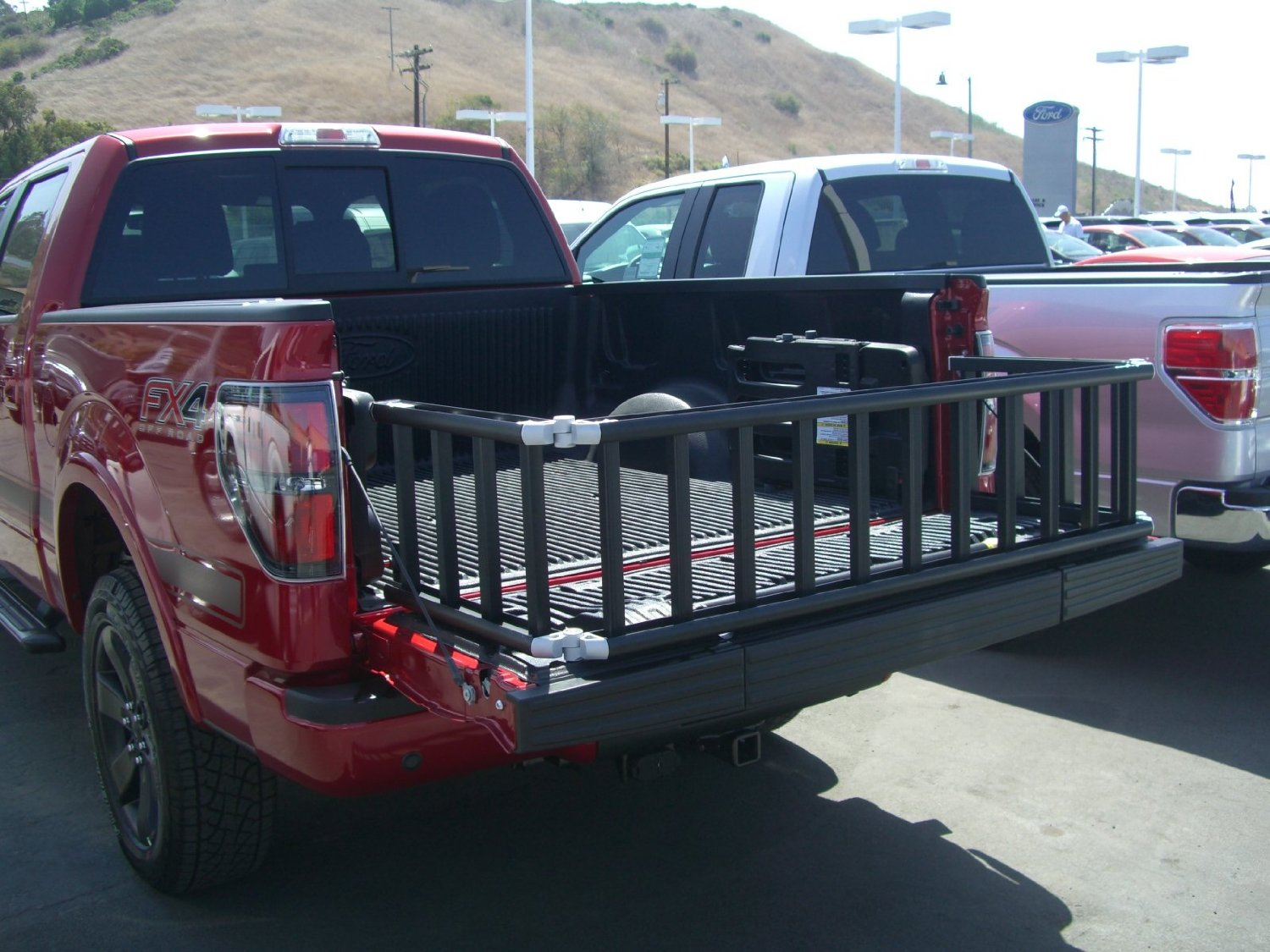 bed en hitch princess mount collapsible auto truck a extender big detail