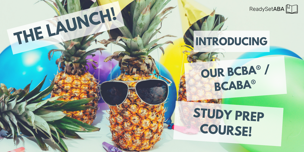 The Launch 🚀 – Introducing Our BCBA® / BCaBA® Study Prep Course