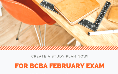 Preparing for the Next BCBA/BCaBA Cycle: Solidify a Study Plan