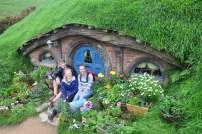 drei Hobbits endlich Zuhause!