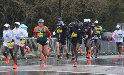 """A """"citizen"""" ended up winning the 2018 Boston Marathon. Many elites had a DNF."""