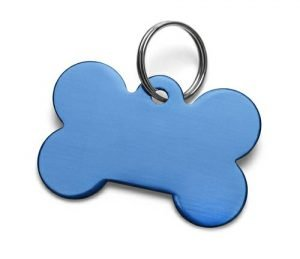 Airedale Terrier dog tag