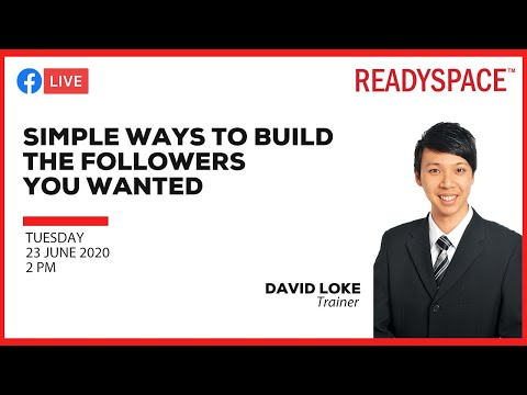 Simple ways to build the followers you wanted