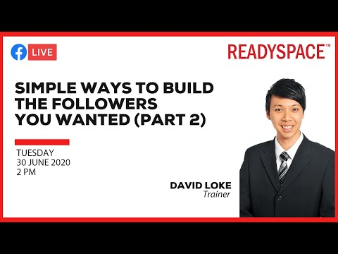 Simple ways to build the followers you wanted (Part 2)