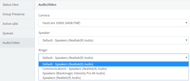 Choose your audio experience