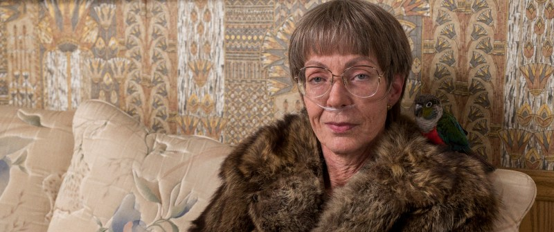 3- LaVona Golden (Allison-Janney) and her pet bird in I, TONYA, courtesy of NEON and 30WEST