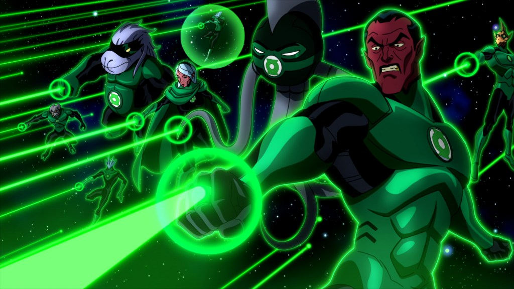 Green Lantern: Emerald Knights - Review