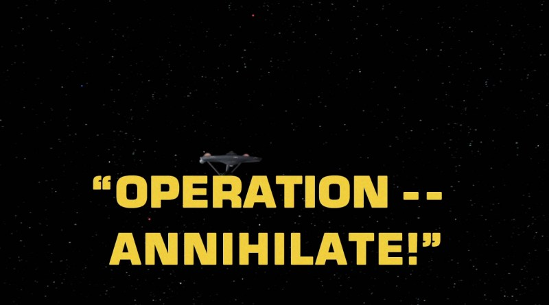 Star Trek - Operation--Annihilate!