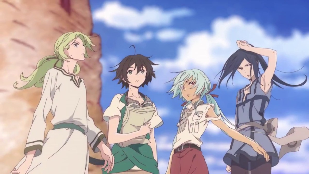 Anime Review |  Children of the Whales / Kujira no Kora wa Sajou ni Utau