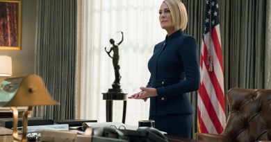 House of Cards Season 6 - Netflix Review - Robin Wright