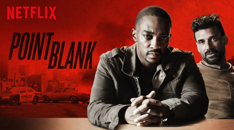 Netflix Action Film Point Blank Starring Anthony Mackie and Frank Grillo