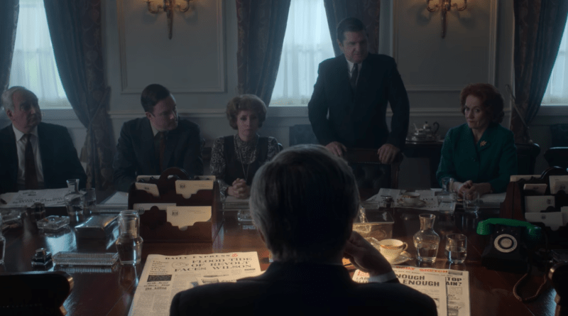 Netflix series The Crown Season 3, Episode 5 - Coup