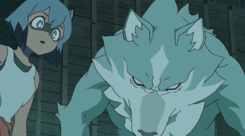 Netflix anime series BNA: Brand New Animal season 1, episode 8 - The Mole Rat Speaks