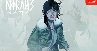 Norah's Saga #1 exclusive review - vikings in Canada