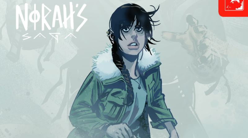 Norah's Saga #1 exclusive review - vikings in Canada