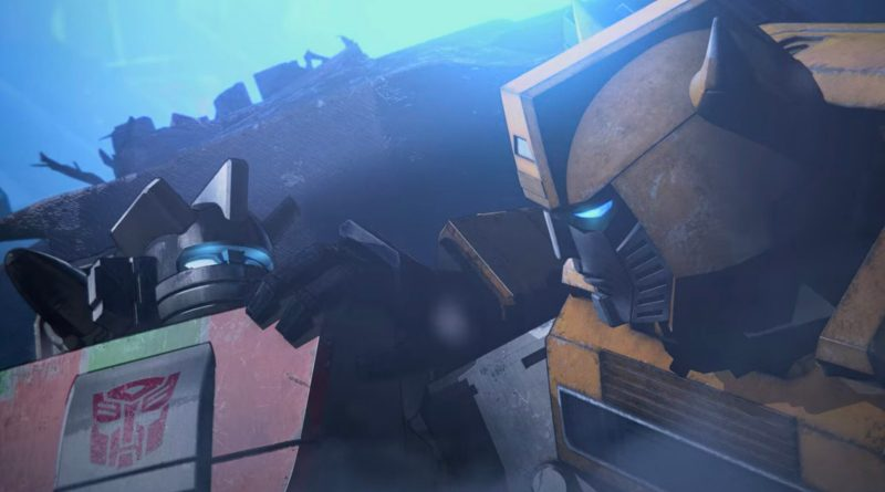 Netflix anime series Transformers: War for Cybertron season 1 (Siege), episode 1
