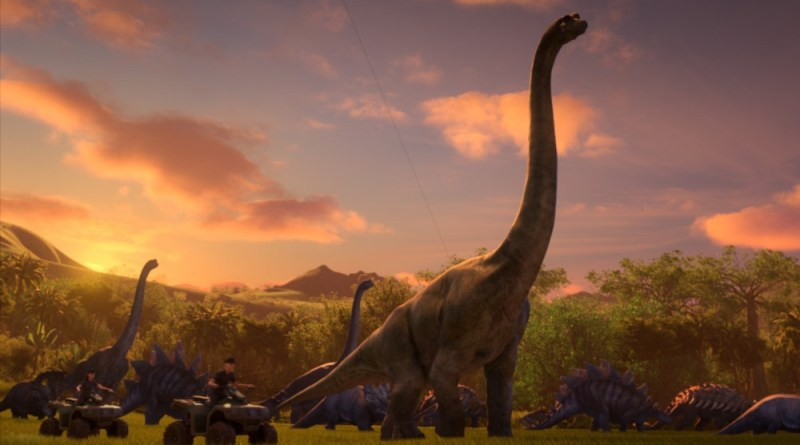 Jurassic World: Camp Cretaceous has a trailer and an interactive website
