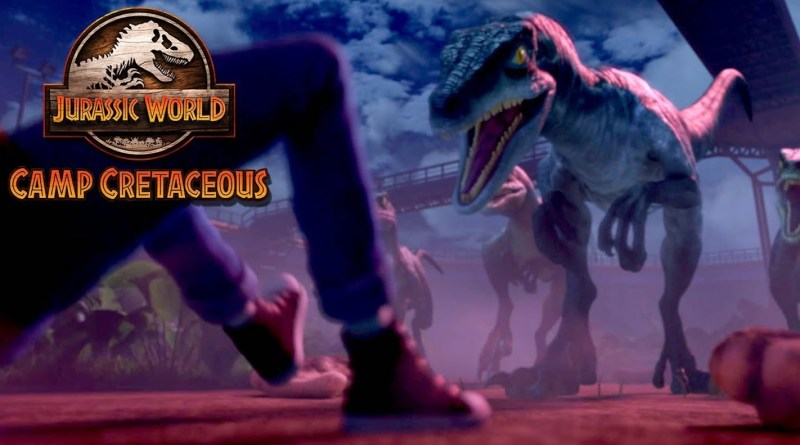 Netflix series Jurassic World: Camp Cretaceous season 1, episode 7 - Last Day of Camp