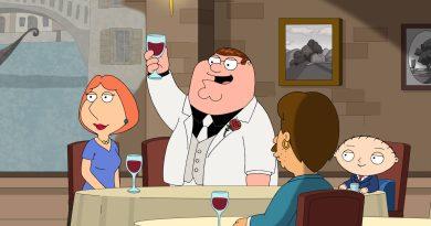 """Family Guy season 19, episode 5 recap - """"La Famiglia Guy"""""""