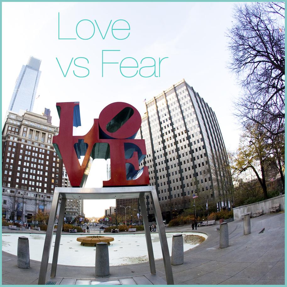 31Days Love vs Fear