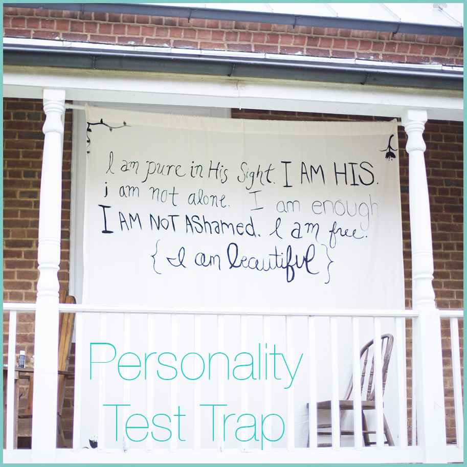 Write 31 Days Personality Test Trap