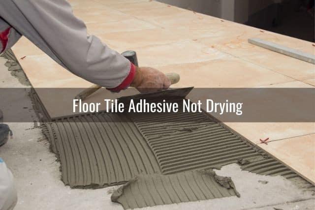 to compute tile adhesive per square meter