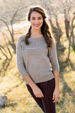 Bailiwick Pullover ©Interweave Knits, Spring 2014