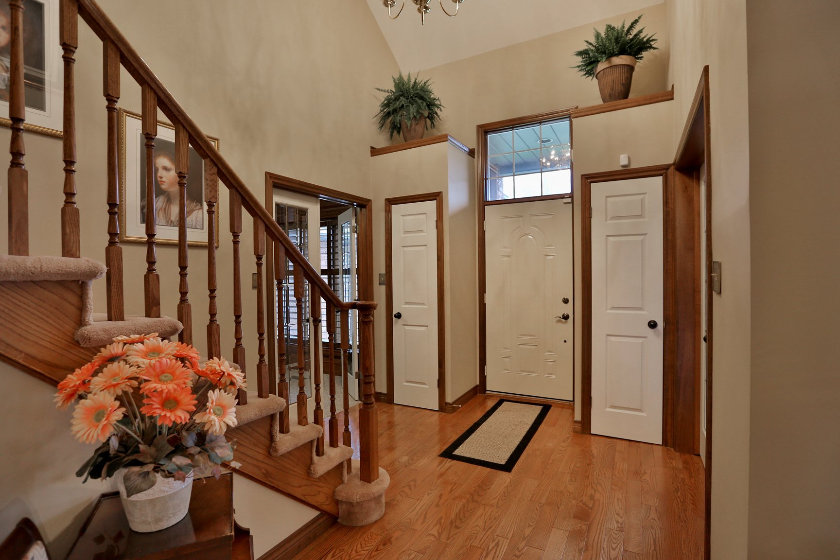 85 Galley left staircase foyer - Recently SOLD in Ancaster
