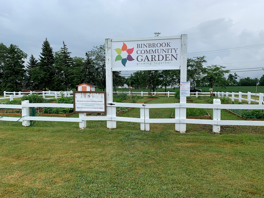 Binbrook Community Garden - Exploring Glanbrook ~ One Neighbourhood at a time ~ Binbrook