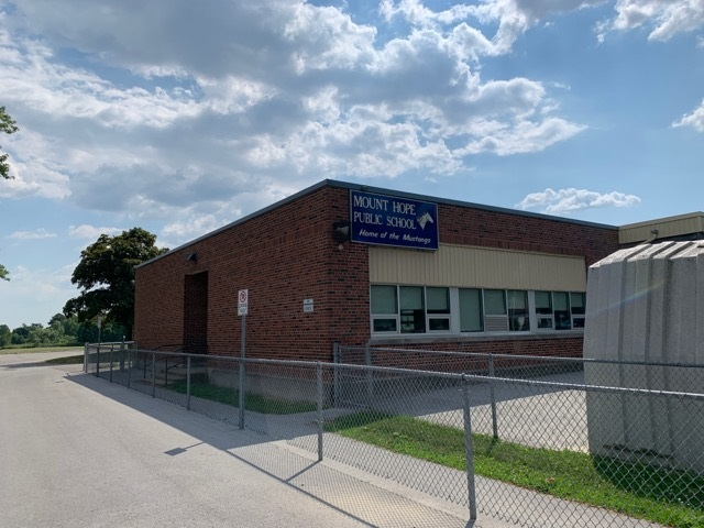 Mount Hope Hamilton Elementary School3 - Exploring Glanbrook ~ One Neighbourhood at a time ~ Mount Hope