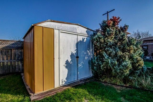 86 Eastbury Stoney Creek backyard shed - Recently SOLD in Stoney Creek