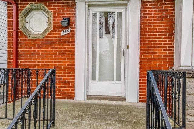 006 136 Auburn Hamilton front porch - Recently SOLD - East Hamilton