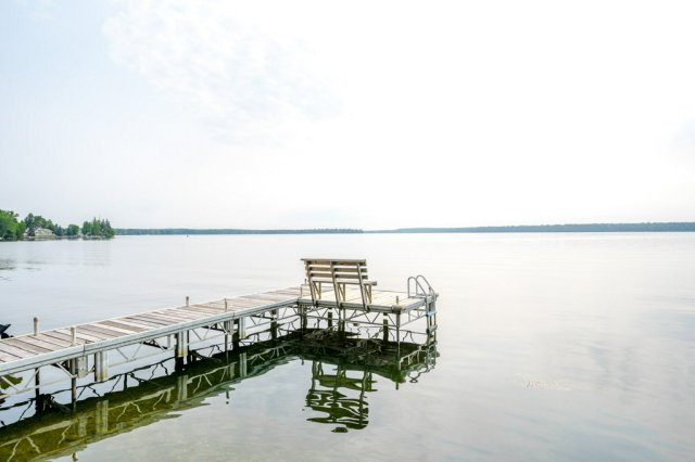 075 26 fire rte 103 bobcaygeon ON dock views - WATERFRONT ~ 4 SEASON COTTAGE FOR SALE ON PIGEON LAKE