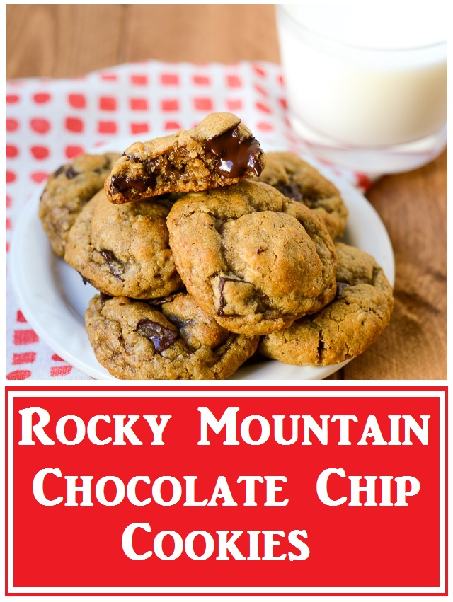 Rocky Mountain Chocolate Chip Cookies