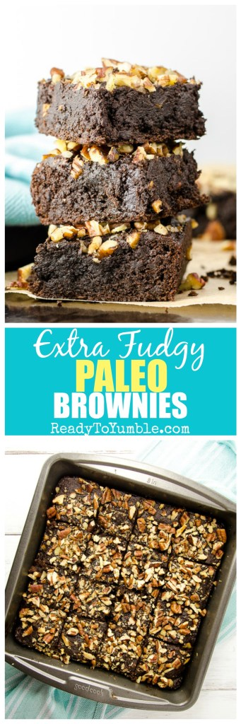 These fudgy paleo brownies are super moist with intense chocolate flavor. Oh and they also happen to be straight-up delicious - whether you're paleo or not!