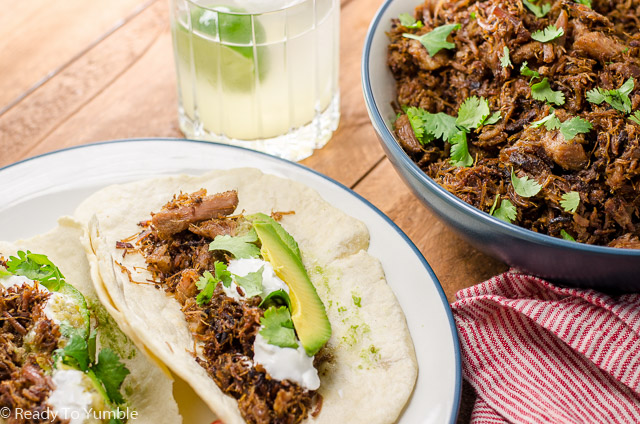 This easy recipe for Crispy Carnitas Tacos turns pork shoulder into juicy, caramelized heaven. Add a fresh tortilla and you'll never want to eat anything else, ever again.