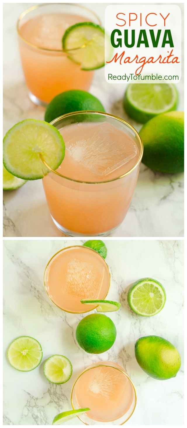 Celebrate Cinco de Mayo (or your average Friday!) with a Spicy Guava Margarita in hand. Equal parts tart, sweet, and peppery, and all-around delicious!