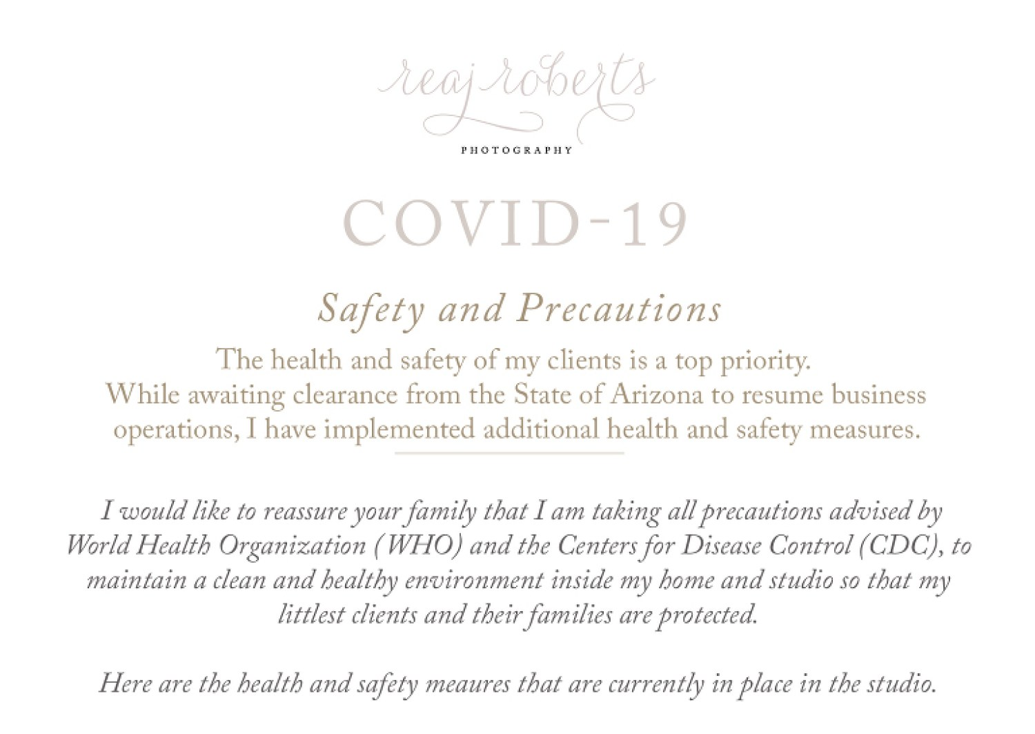 Safety and Precautions