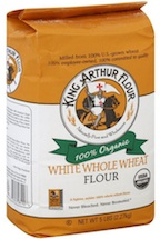 White Whole Wheat KingArthur