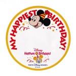 ディズニーリゾートの誕生日特典 シールの期間はバースデー当日のみ?