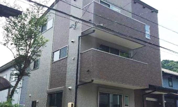 注文住宅(静岡市3階建て)の外観画像