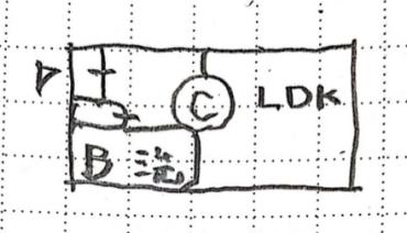 静波の22坪間取りBプラン1階リビングの配置画像